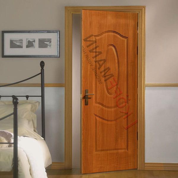 Cửa thép vân gỗ sang trọng cho phòng ngủ