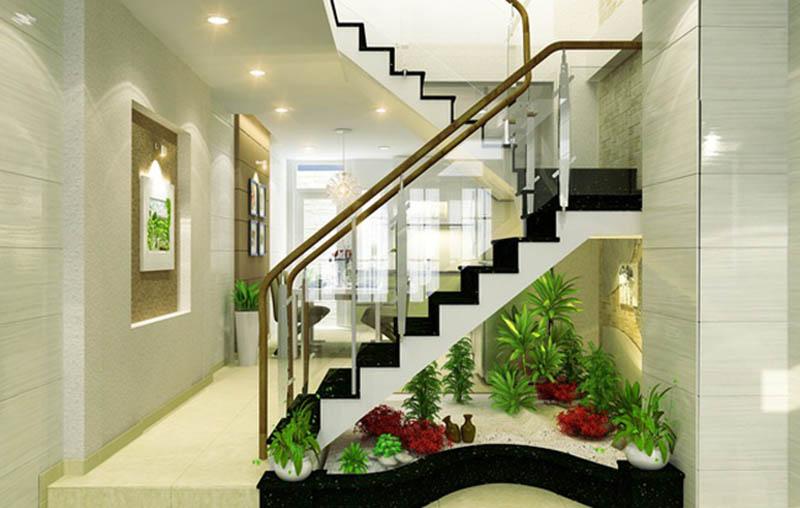 cầu thang giữa nhà và cách khắc phục