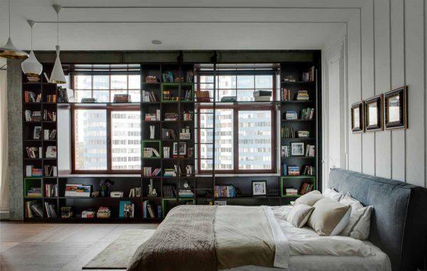 thiết kế diện tích phòng ngủ vừa phải