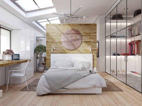 thiết kế diện tích phòng ngủ