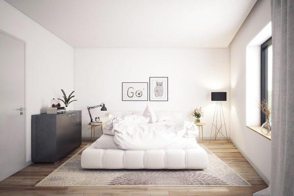thiết kế diện tích phòng ngủ hợp lý