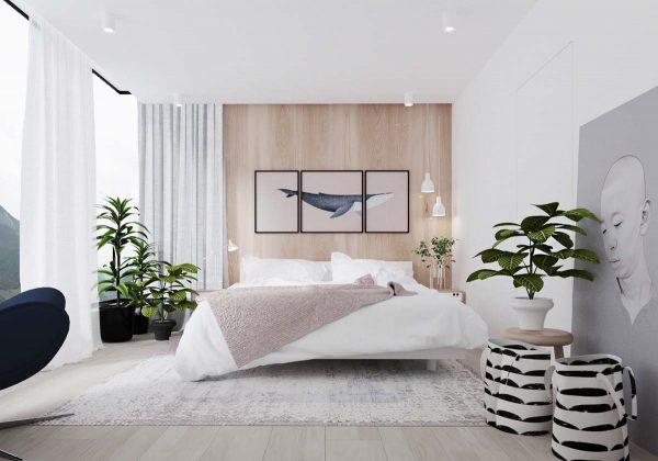 lựa chọn thiết kế diện tích phòng ngủ đẹp