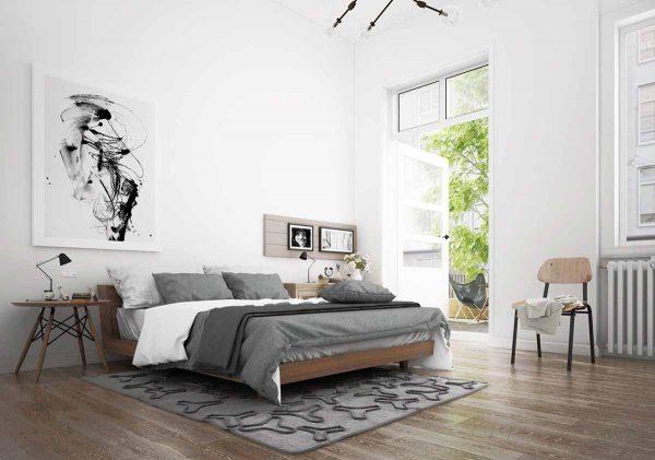 lựa chọn diện tích cho không gian phòng ngủ