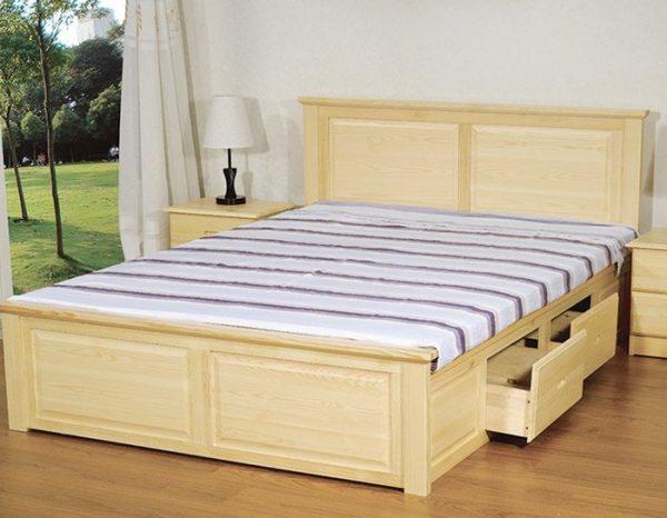 hình ảnh giường ngủ có ngăn kéo