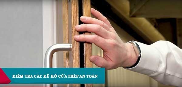 5 điều bạn nên kiểm tra cửa thép chống cháy an toàn